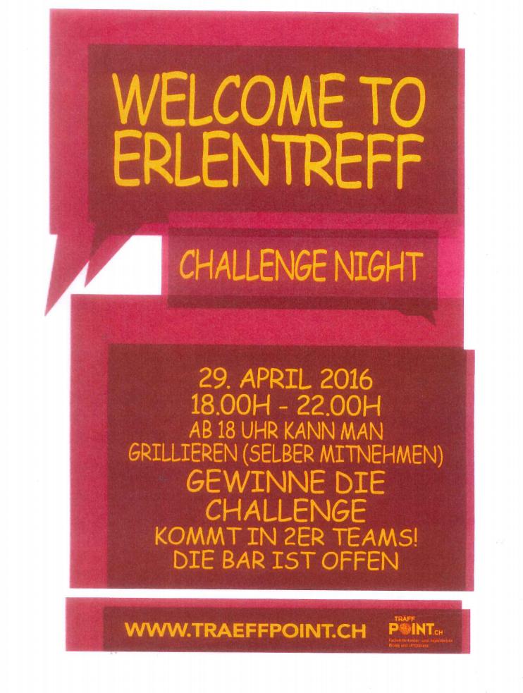 Challenge Night Erle