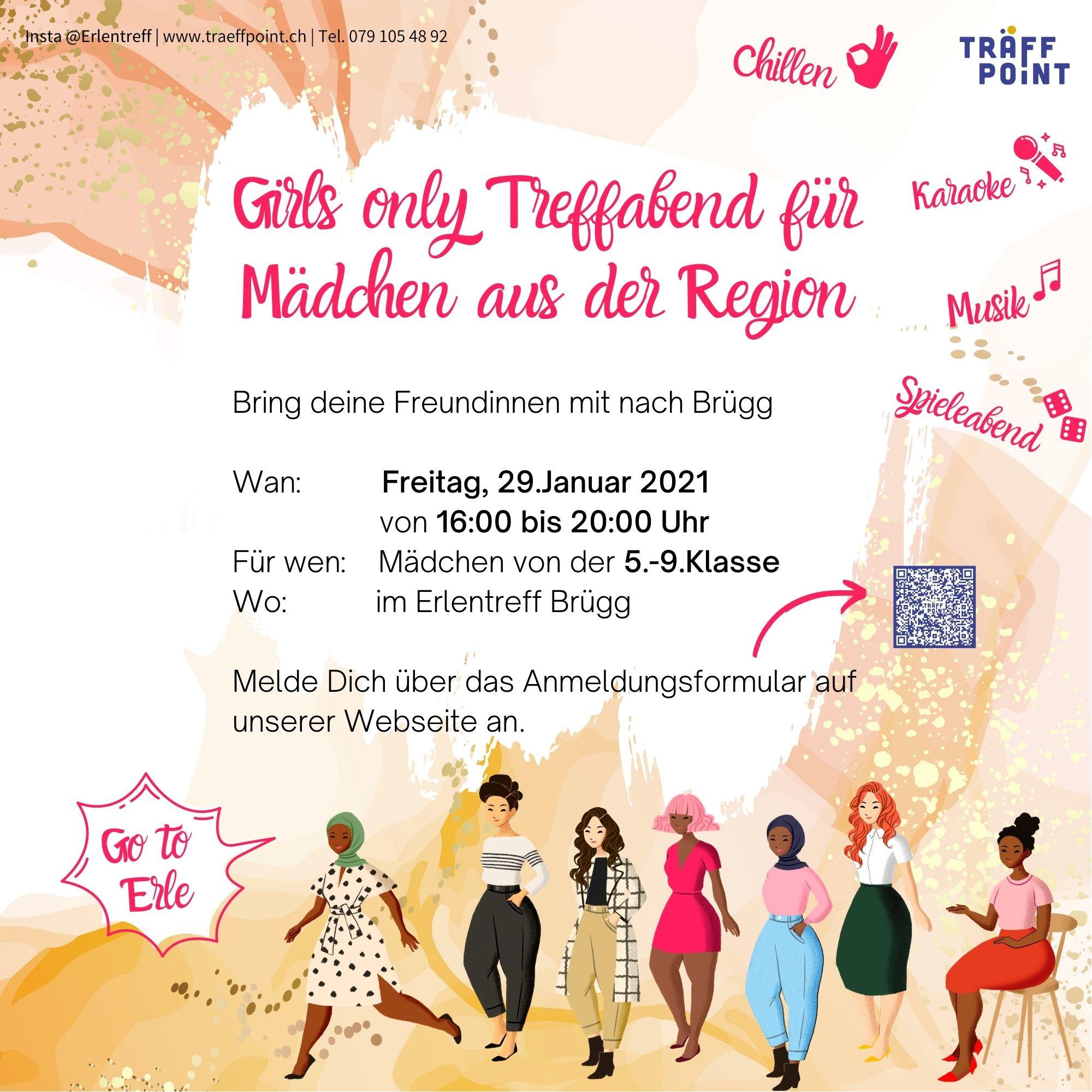 Girls only Treffabend - Go to Erle