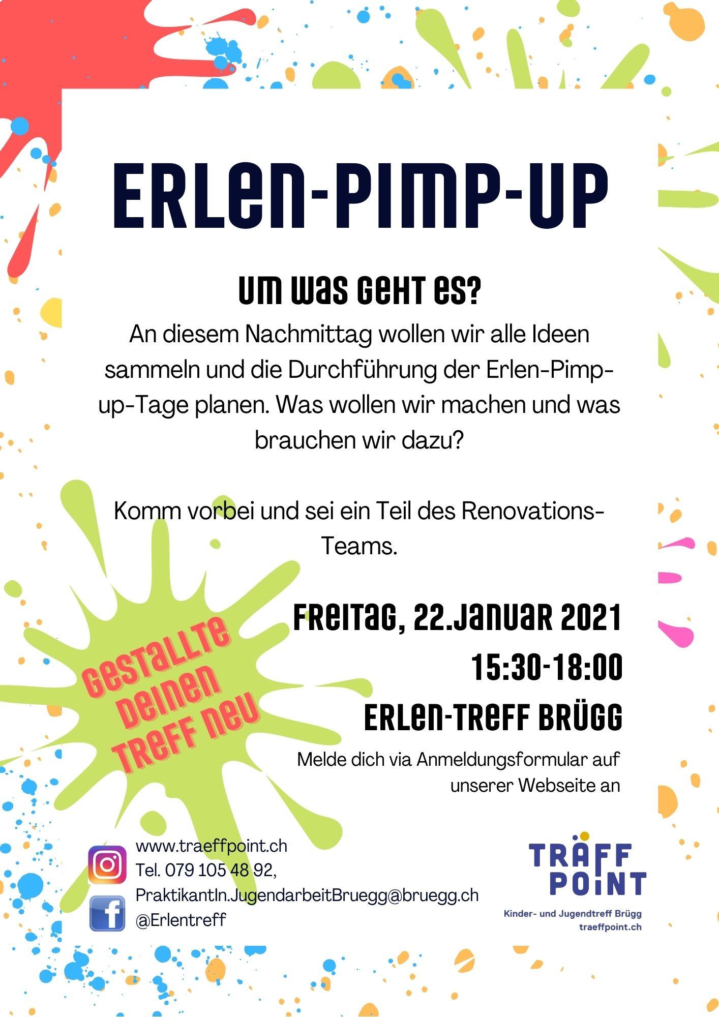 Erlen-Pimp-up-Kick-off